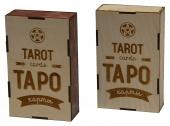 2805 Подарочная коробка для хранения карт Таро Звезда (10х16х40 см)