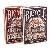 "9127 Коллекционные карты Bicycle ""US Presidents"", 54 листа"